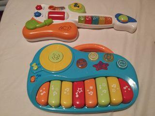 Guitarra y órgano Playland