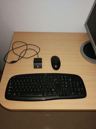 Ratón y teclado inalambrico