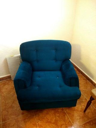 sillón individual vintage