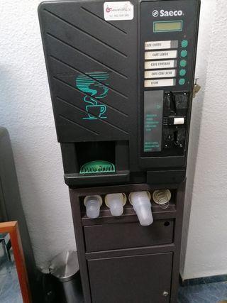 Maquina de cafe expendedora