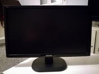 Monitor PHILIPS 22 pulgadas pantalla LCD Full HD