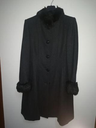 abrigo de paño fiesta