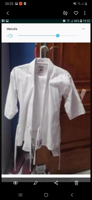 ropa karate niño