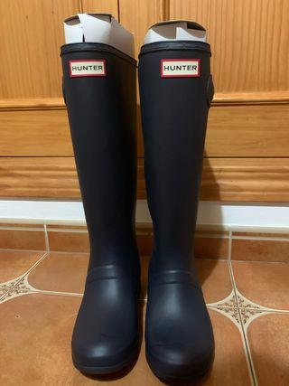 Botas y calcetines Hunter
