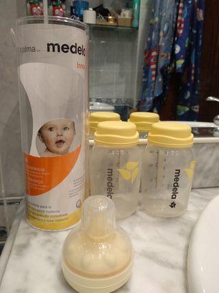 Kit de lactancia casi sin uso. Incluye: