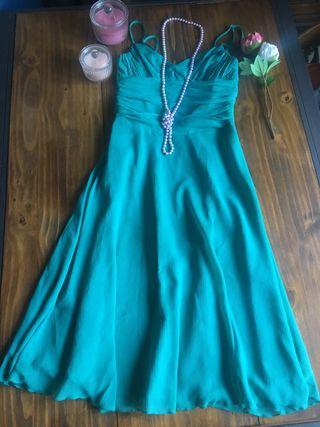 Vestido Vintage turquesa