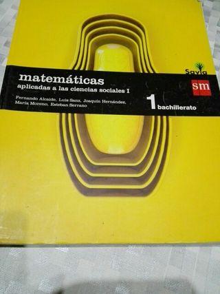 Libro d texto d Matemáticas .
