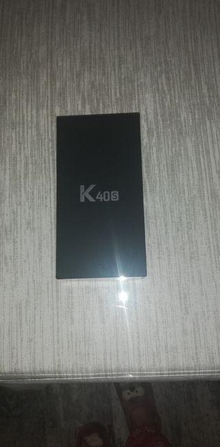 LG K40s Dual Cam, Azul