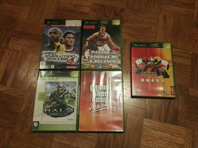 juegos XBOX gta,halo,NBA,pro evolution soccer
