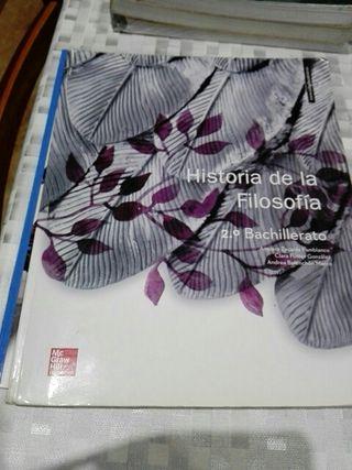 Libro d História d la Filosofía .