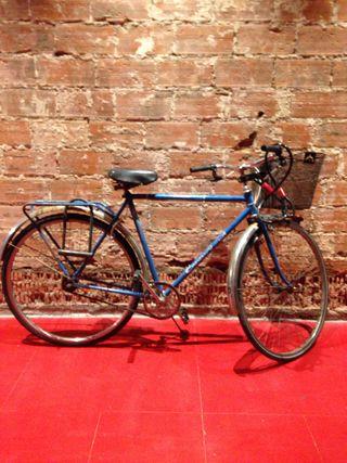 Bici Peugeot azul
