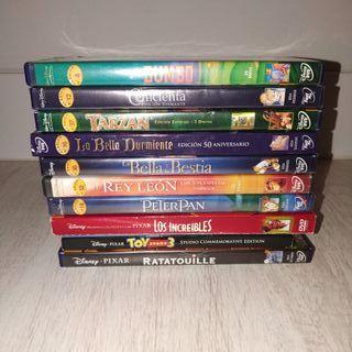 Disney Lote Peliculas Clásicos Disney