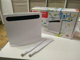 Router Wifi 4G - Huawei B593 - Nuevo - Antenas