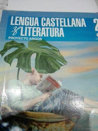 Libro d texto d Castellano .