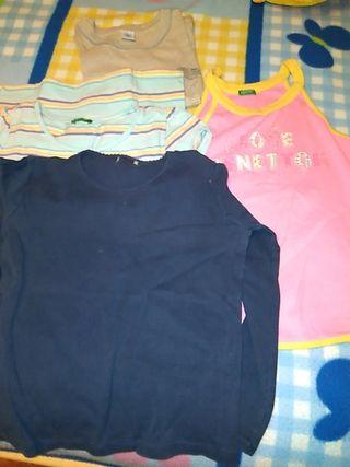 ropa niña talla 6 y talla 12