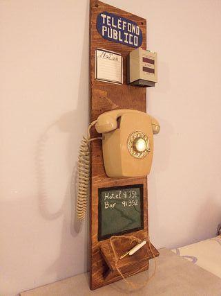 Telefono de pared decoracion