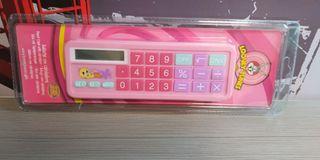 Estuche con calculadora