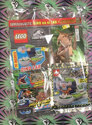 LEGO JURASSIC WORLD PARK REVISTA # 04