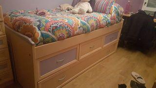 cama nido 90 cm