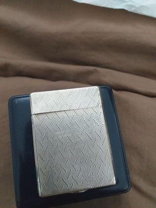 Encendedor Dupon en plata de ley