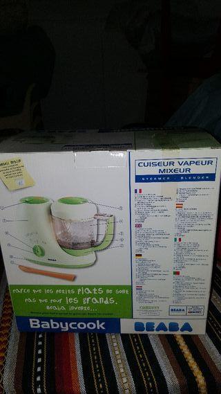 maquina de cocinar y hacer potitos