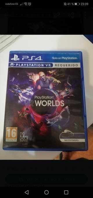 PlayStation vr world