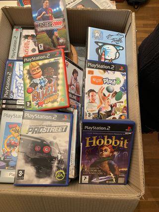 Juegos Play Station 2 y PSP