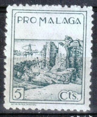 Sello Guerra Civil Málaga. nuevo.