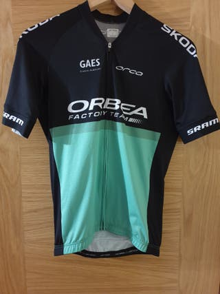 Maillot ciclismo Orca Orbea Factory Team Talla L