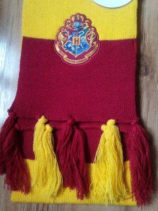 Bufanda Harry Potter. Hogwarts. Nueva