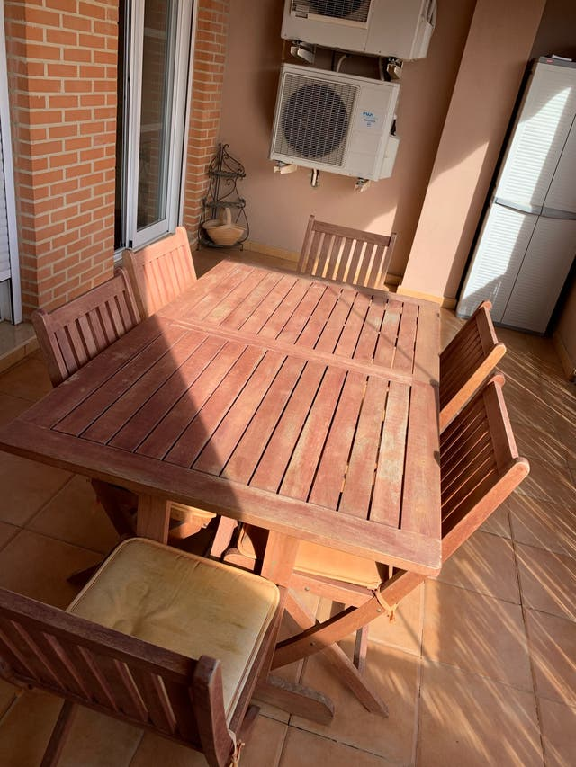 Muebles jardín teka
