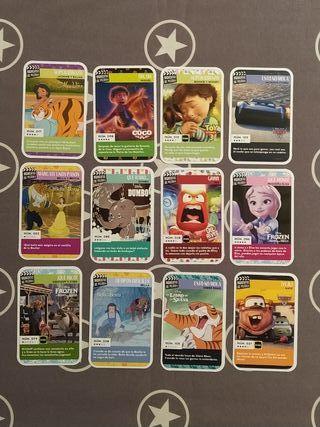 cromos - momentos de película - Disney - Carrefour
