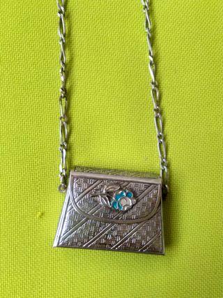 Collar vintage de plata