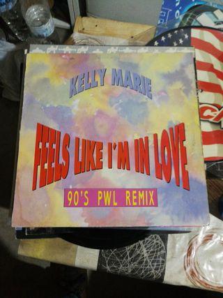 Kelly Marie feels like I'm in love remix