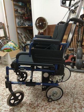 silla de ruedas eléctrica sube escaleras