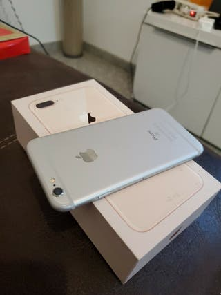 IPHONE 6S BLANCO Y PLATA 64 GB