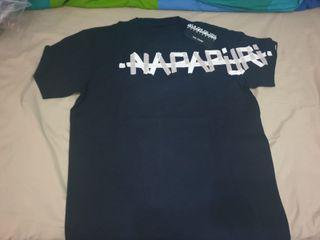 camisa napapijiri con etiquetas