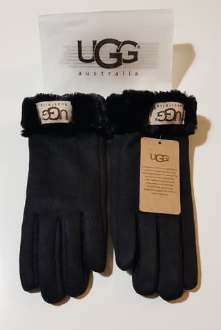 Guantes UGG color negro