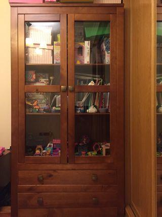 Mueble Vitrina de madera