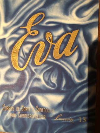 Colección corte y confección Eva antiguos