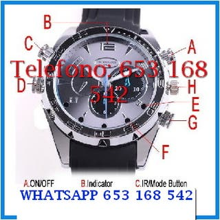 Reloj indetectable indetectable