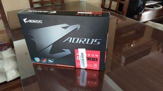 TARJETA GRAFICA GIGABYTE AORUS RX 580 8 GB