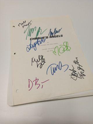 Guión Firmado Los Ángeles de Charlie