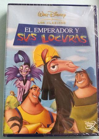 """""""El Emperador y sus locuras"""" película Disney"""