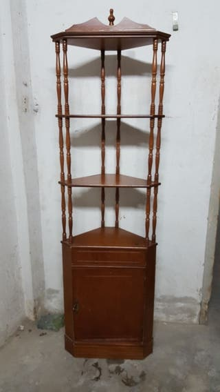 mueble alto madera nacional con armarito