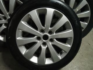 "Llantas Opel Astra J - Zafira C 5x115 - 7J - 17"""