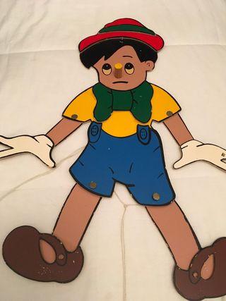 Marioneta Vintage de Pinocho