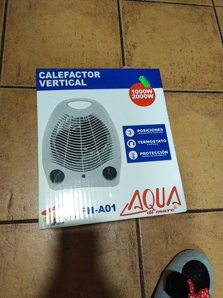 calefactor nuevo