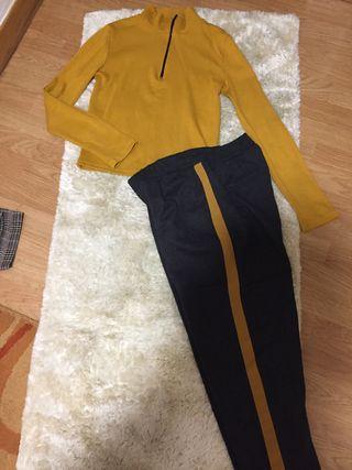 jersey y pantalon