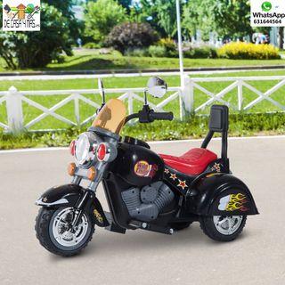 Moto Electrica Infantil con Bateria Recargable
